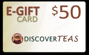 $50 Green Gift Card