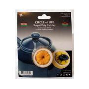 Circle of Life Teapot Drip Catcher
