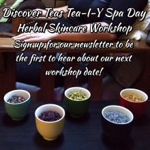 Tea-I-Y Spa Day Registration